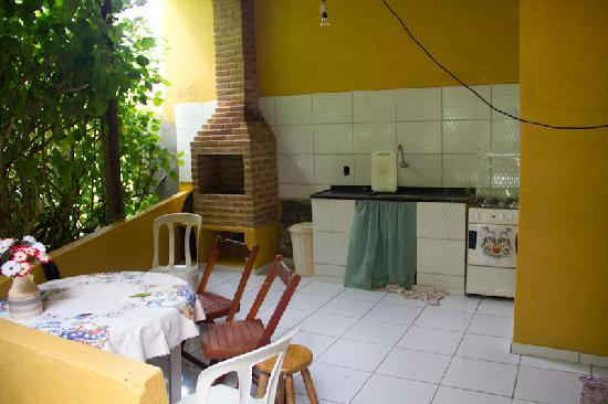 Pousada Mae Natureza: Küche für die Gäste