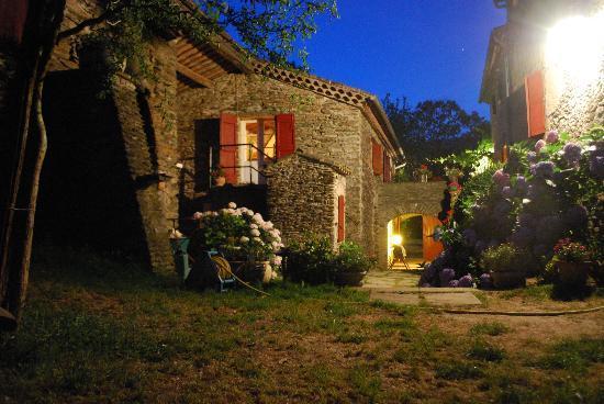 Domaine de Bayssac : Un soir clair à Bayssac
