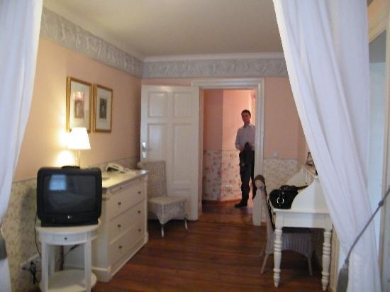 Ackselhaus: bedroom --