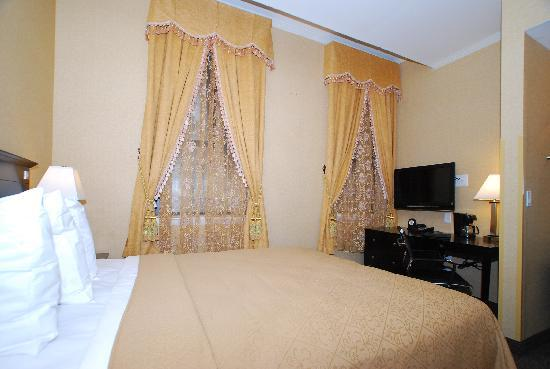 Baltimore Plaza Inner Harbor : Cozy King room