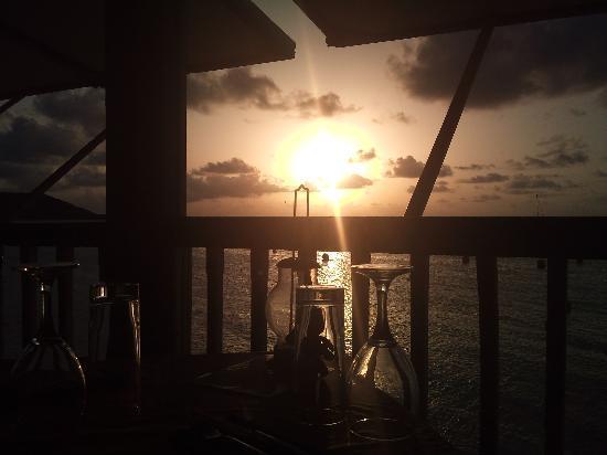 Restaurant le Soleil : the sunset