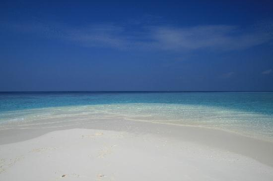 VOI Maayafushi Resort: langue de sable