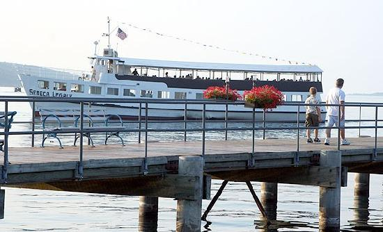 Captain Bill's Seneca Lake: The Seneca Legacy is the Fun Ship of the Finger Lakes!