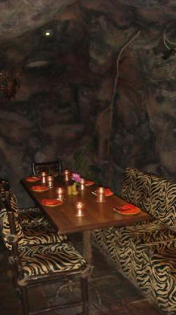 Pai Vista: One of the private tables