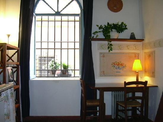 Hello Trastevere : miniappartamento GARDENIA