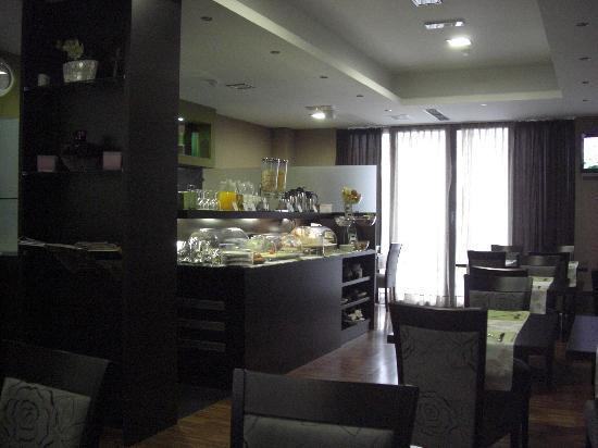 Hotel Jarun: Frühstücksraum