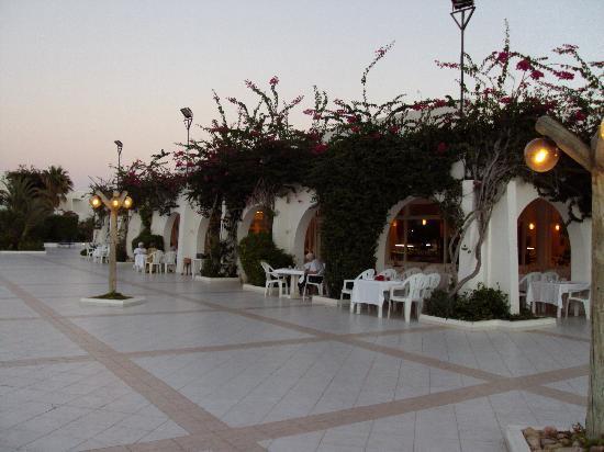 Seabel Rym Beach: Het terras van het restaurant