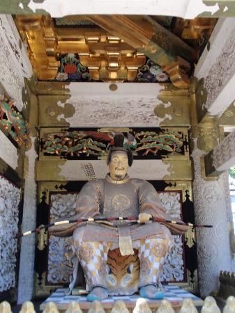 Никко, Япония: Detalle de templo en Nikko