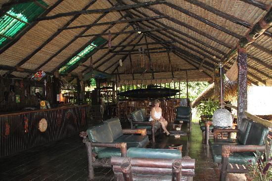 Amazon Village Jungle Lodge : Amazon Village Lobby