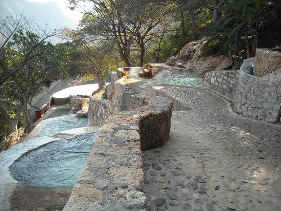 Ixmiquilpan, Mexico: Tolantongo pools