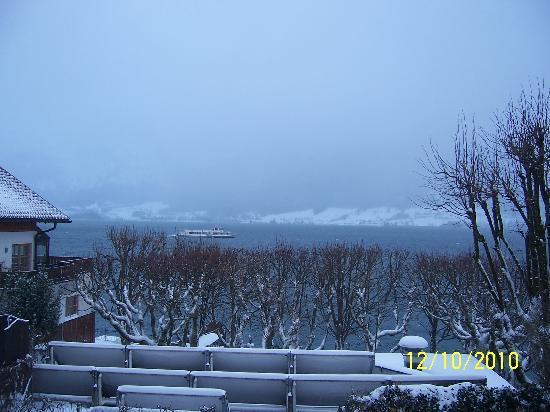 Seebockenhotel Zum Weissen Hirschen: view from our room in December