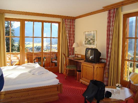 Achenkirch, Austria: Zimmer mit Balkon und Aussicht