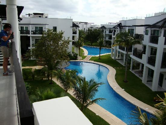 Azul Beach Resort The Fives Playa Del Carmen: Azul Fives pool view