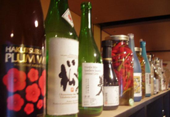 Iza Restaurant: lots of sake