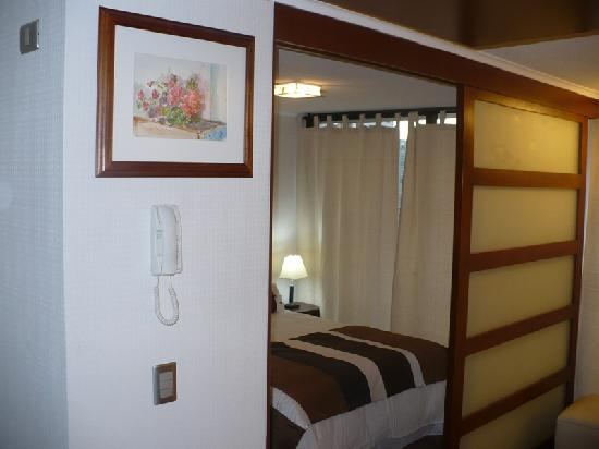 Chileapart : Puerta dormitorio