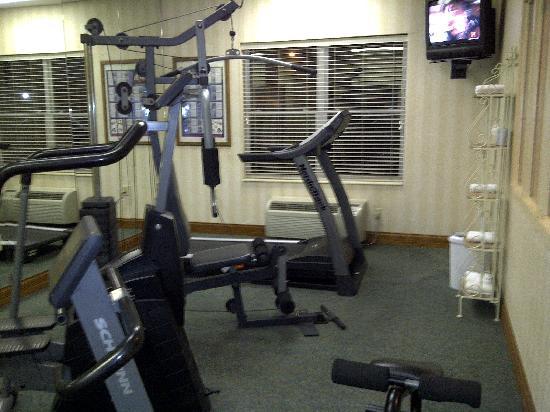Quality Inn & Suites I-35 / Walnut Hill: Gym