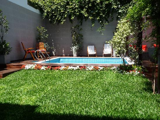Duque Hotel Boutique & Spa: Backyard