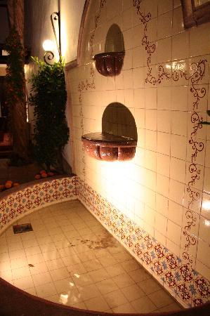 Hotel Villa del Villar: fountain