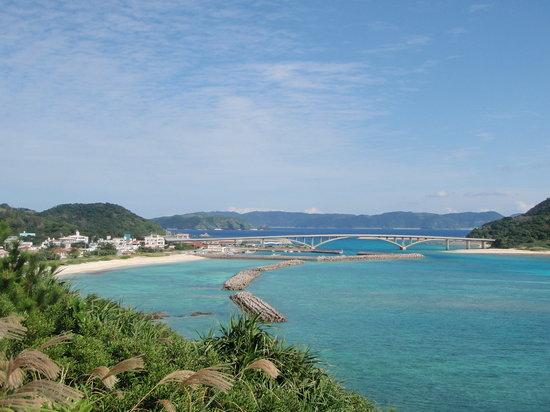 Shimajiri-gun, Japan: 港側