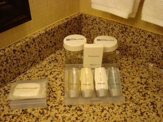 Hilton Garden Inn Tampa / Riverview / Brandon: Complimentary toiletries