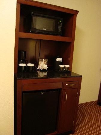 Hilton Garden Inn Tampa / Riverview / Brandon: Microwave and mini fridge