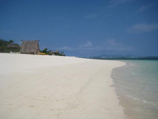 Νήσοι Yasawa, Φίτζι: The white sand beach