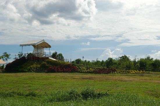 Davao Zorb Park : The Zorb park - just as you enter the Crocodile Park compund