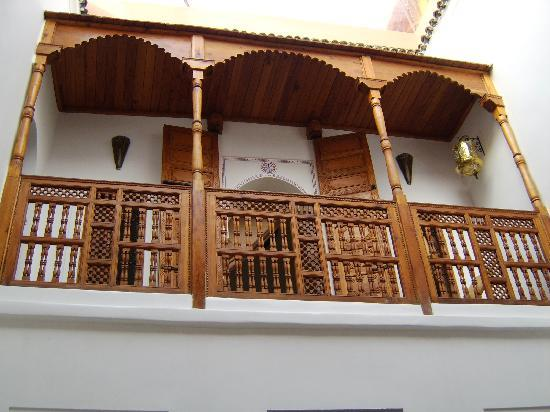 Riad Slawi: The balcony outside the bedroom