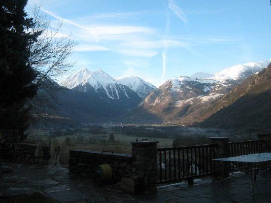 Les Terrasses de Saubissan : La vue de la terrasse est magnifique