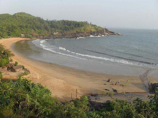 SwaSwara: Om beach which is a 2 minute walk from your villa
