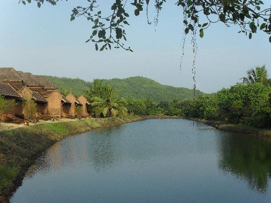 SwaSwara: The back of my villa