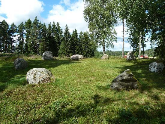 Fargelanda, Suecia: Gerichtsstätte