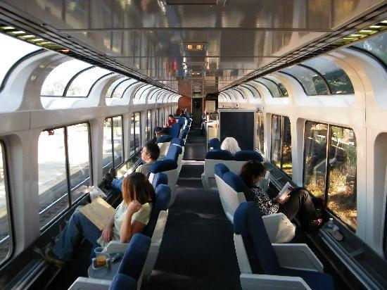 Lounge Car Picture Of California Zephyr California
