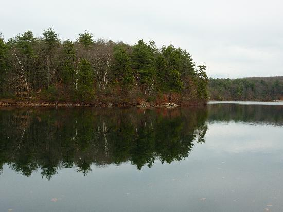 North Bridge Inn: Walden Pond in November