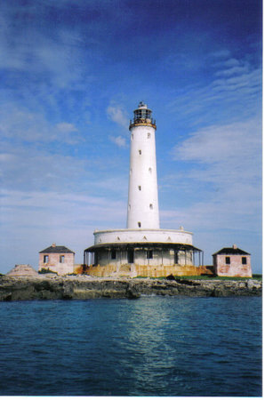 Crooked Island: BIRD ROCK LIGHTHOUSE