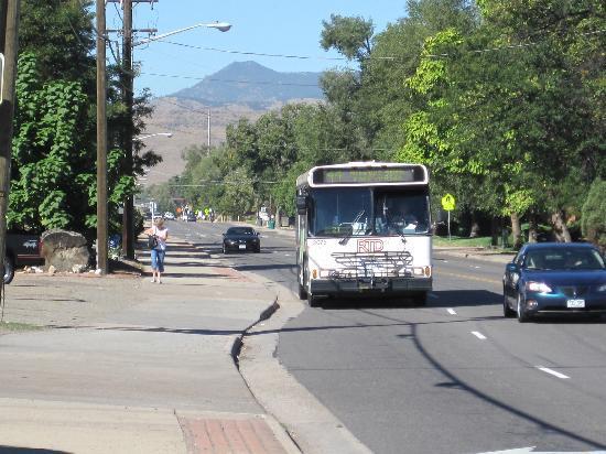 Denver, CO: Bus # 44 at 44 and Kipling, Wheat Ridge