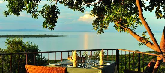 Bumi Hills Safari Lodge & Spa: Deck Dining