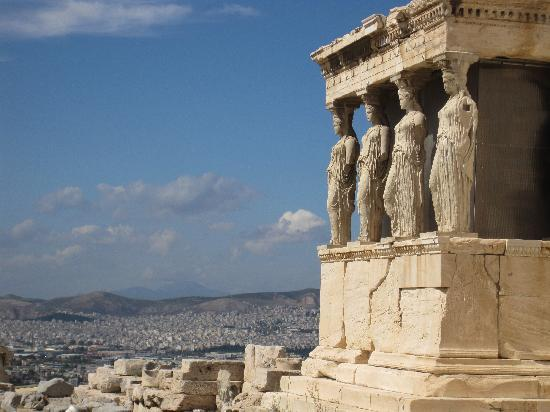 Atenas, Grecia: The Erechthion, Athens