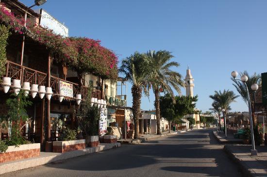Al Quseir Hotel : The harbour street near the Hotel Quseir