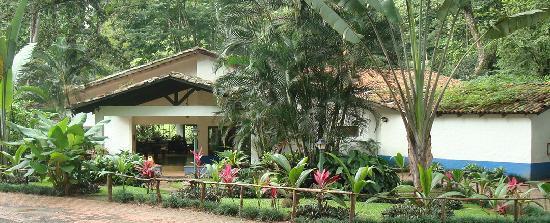 Lobby del Hotel Villa Lapas