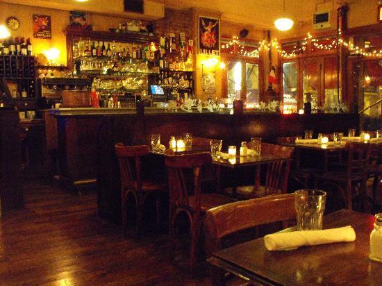 FADA: The interior of the restaurant