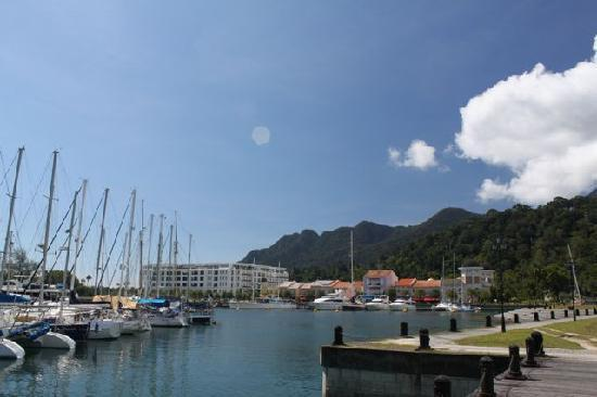 The Danna Langkawi: harbour