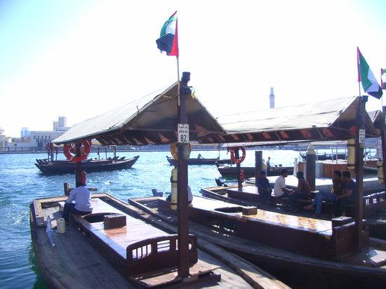 迪拜河Abra木船码头