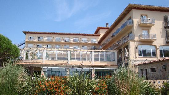 Hipocrates Curhotel : Vista hotel Hipocrates