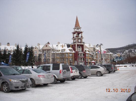 Mont Tremblant, Canada: Entrance