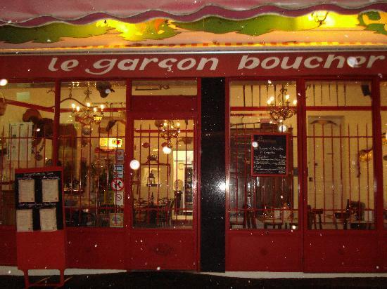 Le Garcon Boucher : facade du restaurant