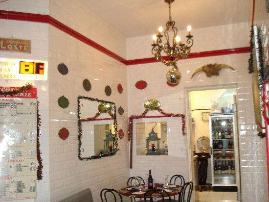 Le Garcon Boucher : interieur