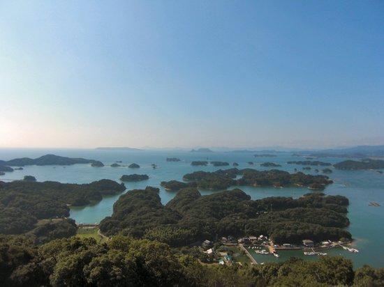 Sasebo, Japan: 青い海と九十九島を一望!