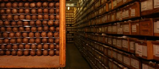 Tabacalera de Garcia Factory Tour: The Cedar Room - All of our cigars are aged here