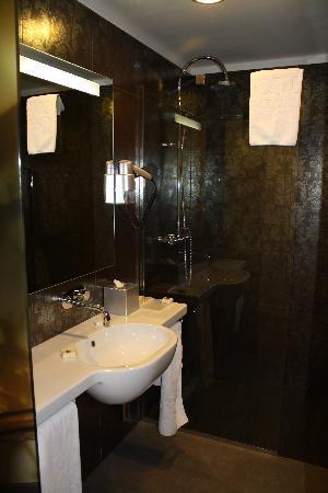 Hotel Palazzo Zichy: Baño